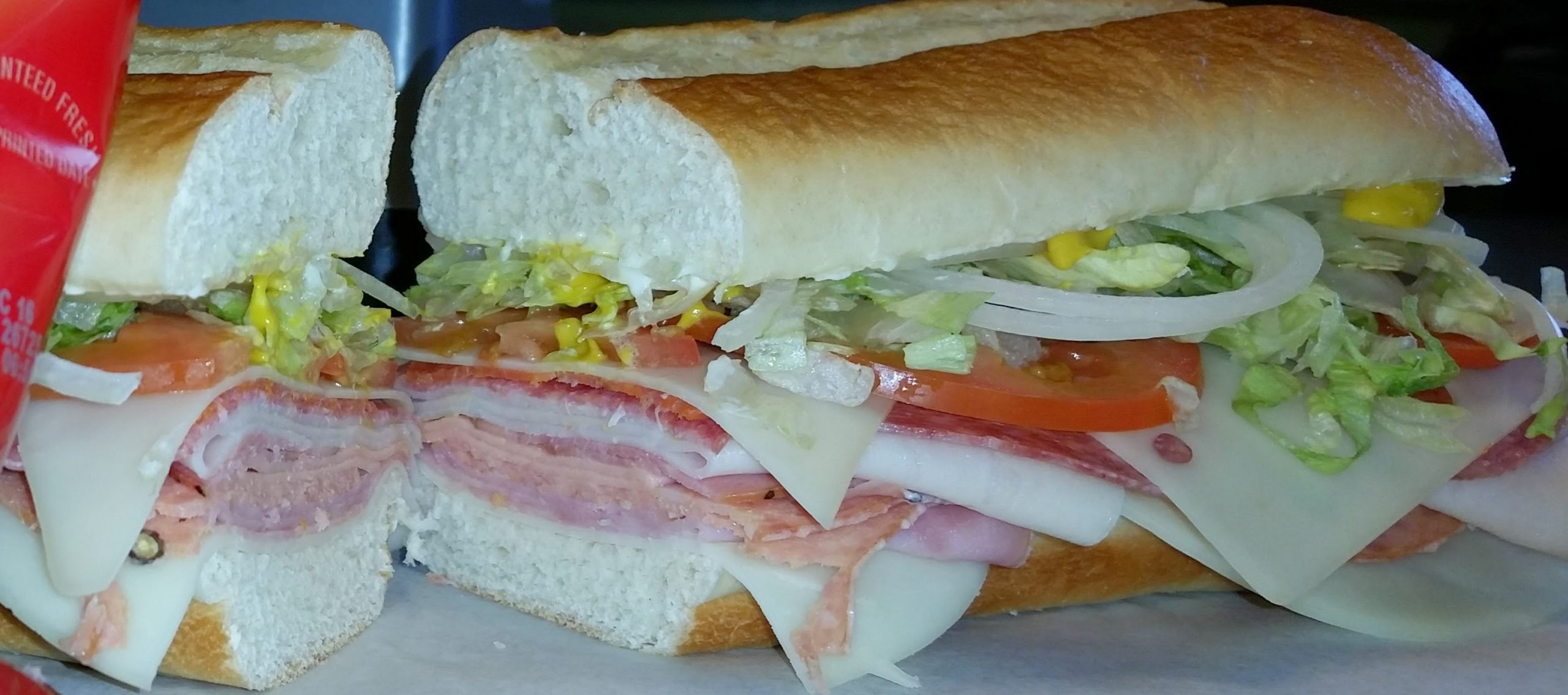 Delicious Tony's Sub Shop Submarine Sandwich