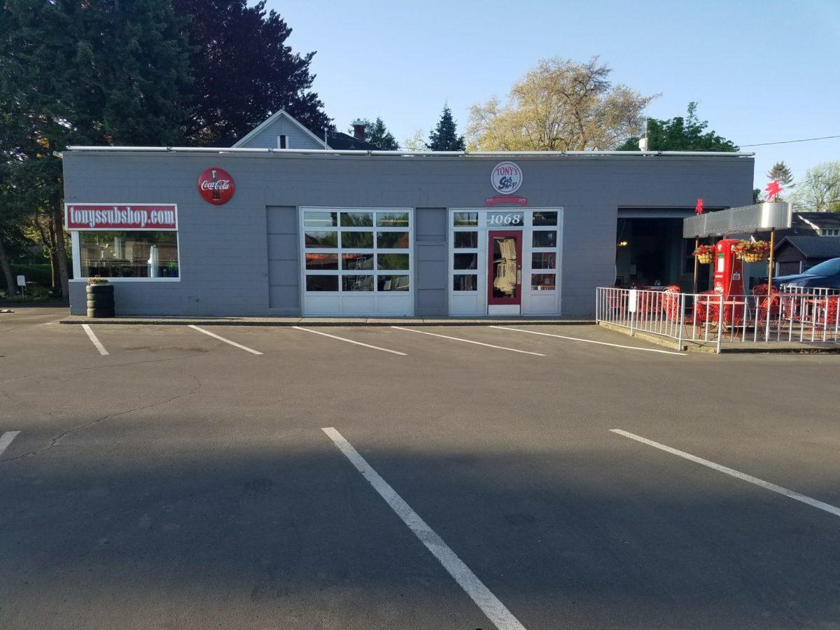 Tony's Sub Shop Store Front